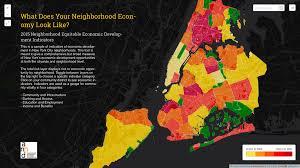 New York City Tax Map by New Tool Maps Nyc Economy By Neighborhood U2013 Next City