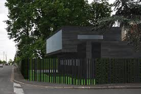 contemporary architecture u0026 design black steel house