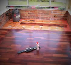 a up image of allbrite s electric ribbon underfloor heating