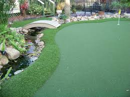 Small Backyard Putting Green Concrete Paver Installation Ultrabasesystems