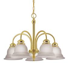 Brass Chandelier Shop Project Source Fallsbrook 5 Light Polished Brass Chandelier