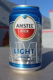 amstel light mini keg new 12 oz 355 ml amstel light beer can brewed in mexico mexican