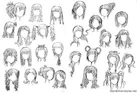 cute anime hairstyles fade haircut