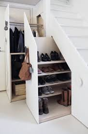 Schlafzimmerm El Sch Er Wohnen Mobiele Kasten Onder De Trap Ruimte Voor Jassen Tassen Schoenen