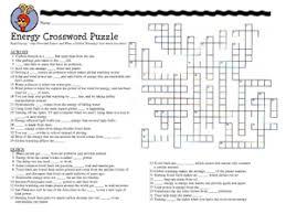 renewable energy crossword u0026 energy crossword puzzle worksheet sc