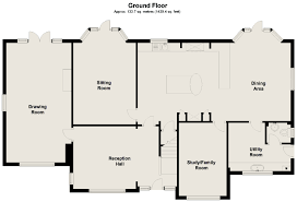 Wisteria Floor Plan by 3 Bedroom Detached For Sale In Canterbury