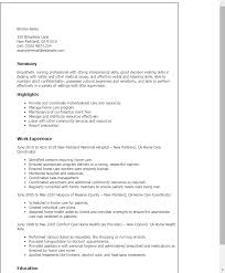 home care coordinator resume gse bookbinder co