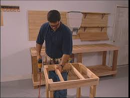 How To Make A Fold Down Workbench How Tos Diy by How To Build A Standing Tool Stand How Tos Diy