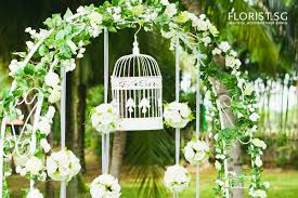 wedding arches singapore rental florist sg