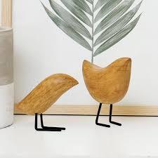 elizabeth hales design wooden bird 2 figurine set reviews