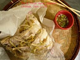 cuisiner citronnelle filet de poisson vapeur gingembre citronnelle sauce à l ail les