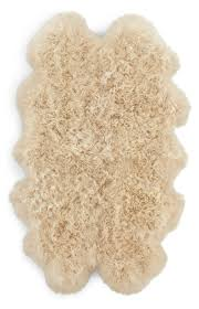 Faux Fur Area Rugs by Flooring Elegant Sheepskin Rug For Inspiring Unique Rug Design