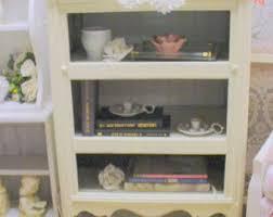 shabby chic bookcase etsy