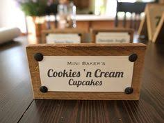 Wedding Buffet Signs by Corks Can Make Great Place Card Or Mini Food Sign Holders Cut A