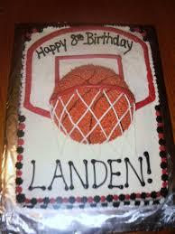 basketball birthday cakes reha cake