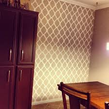 kirkland home decor clearance hydrangea love dinning room wall stencil