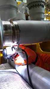 personnel welders at our subsea client in the area of mongstad