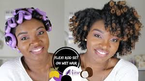 flexi rod stretch long 4b c hair flexi rod set type 4 hair new the mane choice pink lemonade