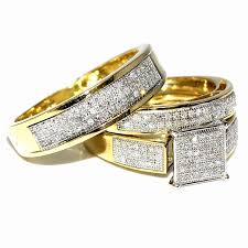 promise ring sets for him and his and hers wedding ring sets cheap awesome matching