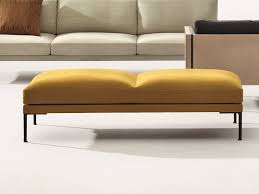 Upholstered Benches Upholstered Backless Bench Seating Steeve Collection By Arper