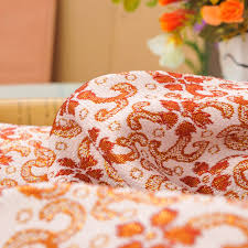 Geometric Orange Curtains Charming Floral And Geometric Orange Red Blackout Curtains Buy