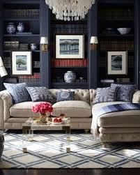 spring decor ideas in navy and yellow navy spring and living rooms