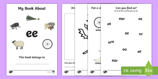 my phase 3 digraph workbook ee digraph formation phase 3