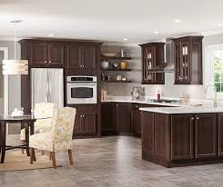 dark cherry kitchen cabinets homecrest cabinetry