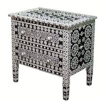 bone inlay chest of drawers collection by pearl handicraft