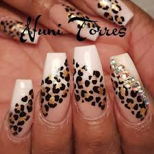 Nail Designs Cheetah 25 Trending Cheetah Nail Designs Ideas On With Additional