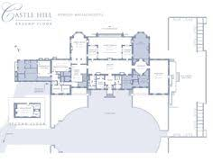 Architectural House Plans by Detail Of Ground Floor Plan Of Castle Howard Projetos