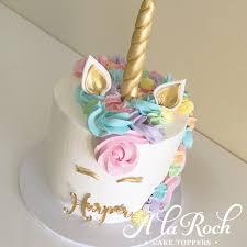 unicorn cake topper unicorn cake à la roch cakes