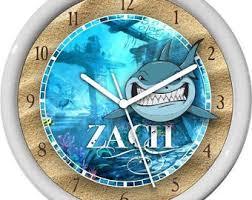 shark clock etsy