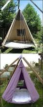 How To Make Swing Bed by Best 25 Trampoline Swing Ideas On Pinterest Backyard Trampoline