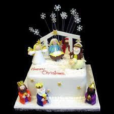 nativity christmas cake decorating ideas pin nativity cake
