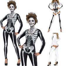 Womens Skeleton Halloween Costume Womens Skeleton Costume Ebay