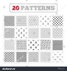 ornament patterns diagonal stripes kosher stock vector