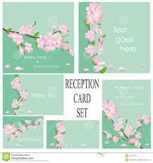 wedding reception card stock image image 20008631