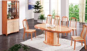 Two Tone Dining Room Sets Dt34 Dining Table In Cherry Light Two Tone By Pantek W Options