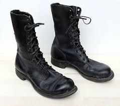 s boots in size 12 vintage panco war boots mens size 12 dated 1960