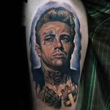 40 james dean tattoo designs for men american actor ink ideas