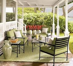 Pottery Barn Patio Furniture Outdoor Rooms Solutions The Inspired Room