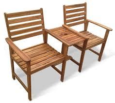 Garden Bench Hardwood Chester Hardwood Companion Set Love Seat Garden Bench Tete Tete