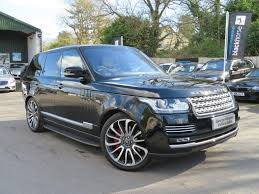 land rover black 2015 used 2015 land rover range rover sdv8 vogue se autobiography