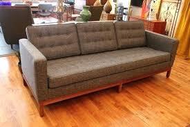 Vintage Modern Sofa 60s Modern Furniture Vintage Mid Century Modern Tuxedo Button