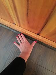 Laminate Floor Threshold The Yellow Cape Cod Diy Installing Click Laminate Floors At The