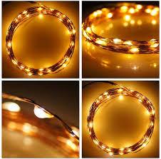 copper wire led lights 12v 33ft 10m 100 copper wire led string fairy lights guirlande