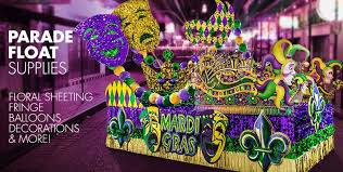 mardi gras material mardi gras parade float supplies party city
