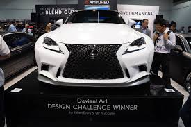lexus is350 f kit lexus cars 2013 sema deviantart design challenge is350 f sport