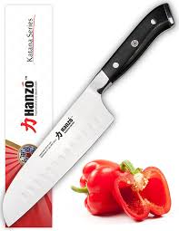 amazon com hanzo santoku knife 7